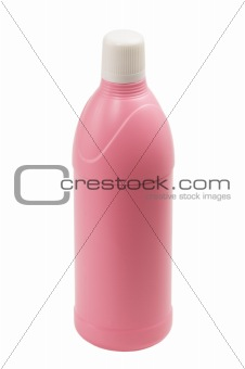 coulored plastic bottle