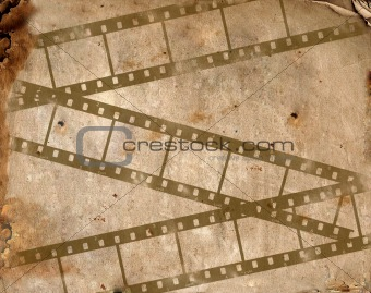background image with filmstrip