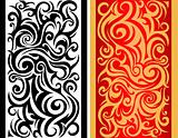 Tribal swirls