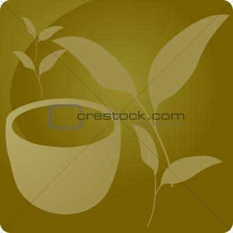 Green tea beverage panel