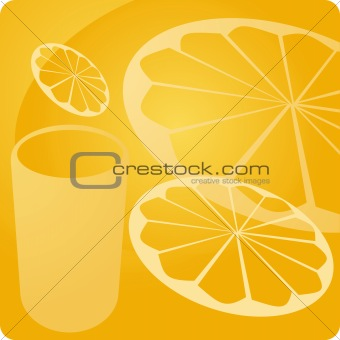 Orange juice beverage panel