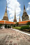 Wat Pho Temple's Stupa