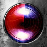 red radar screen