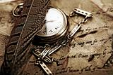 Paper & Old watch