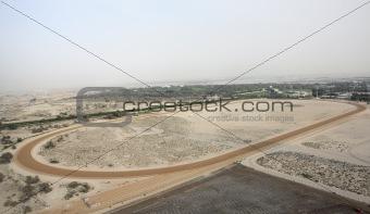 Camel Racing Track In Dubai
