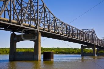 Bridge Spanning the Illinois