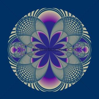 An elaborate fractal.