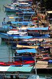Fishing boats on cuban river
