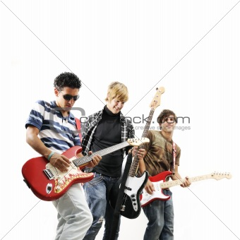 Teen rock band