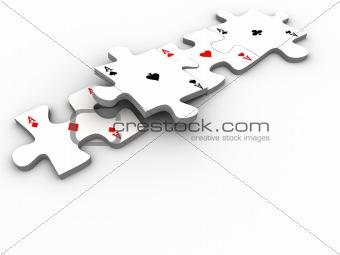 Aces puzzle