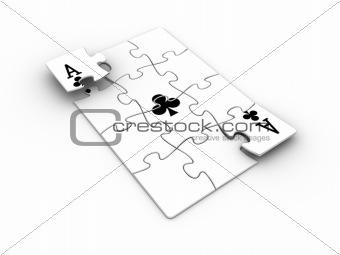 Ace puzzle