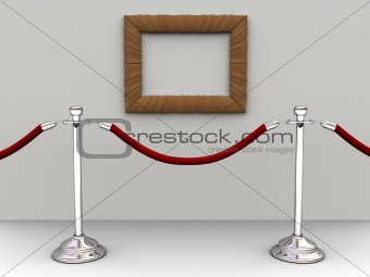 Rope barrier