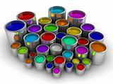 Paint cans 3