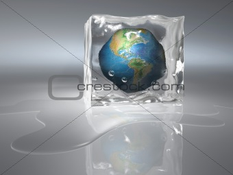 Image of Frozen Earth from Crestock Stock Photos