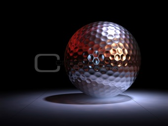 Chromate golf ball