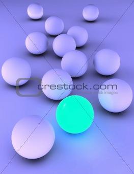 Bright sphere