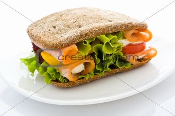 Appetizing sandwich