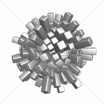 cubes sphere