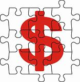 cash puzzle