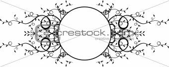 circle plants frame