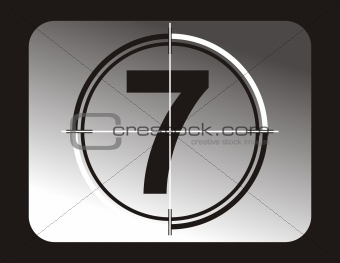 countdown number