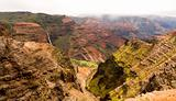 Waimea Canyon, Waipo&#39;o Falls