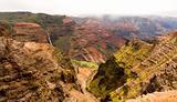 Waimea Canyon, Waipo'o Falls