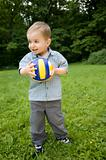The Boy With A Ball