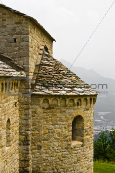 ancient church on mountain