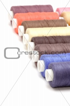 cotton rolls close up