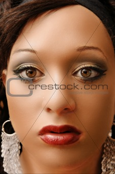 Portrait of an pregnant woman.