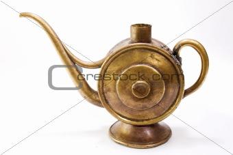 old oil pot