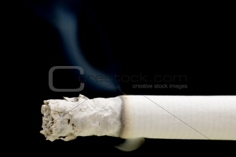 cigarette with smoke
