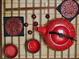 Oriental tea ceremony set