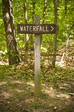 Waterfall Sign