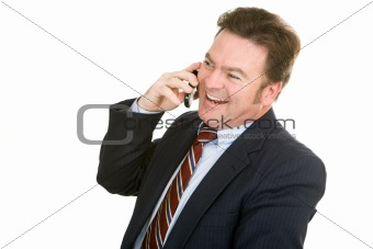 Businessman - Pleasant Conversation