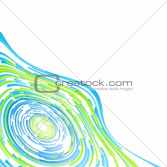 Beautiful modern abstract background