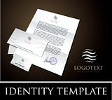 identity tmplate