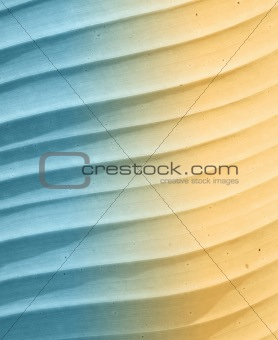blue and beige leaf background