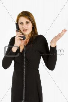 Business women gesturing