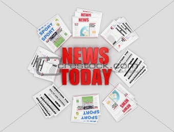 Todays news logo