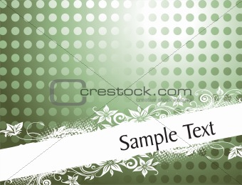 abstract background with place for text,  green vector wallpaper