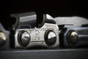 Chainsaw Chain Detail