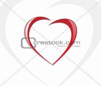 broken heart symble of separation, wallpaper