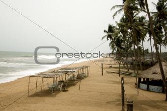 A beach in Benin