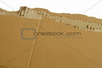 Cardboard rip