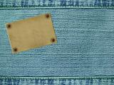 Background - material of jeans of blue color