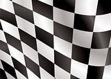 checkered flag flap