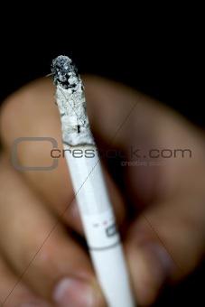 cigarette ash
