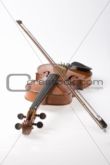 Violin and it's bow
